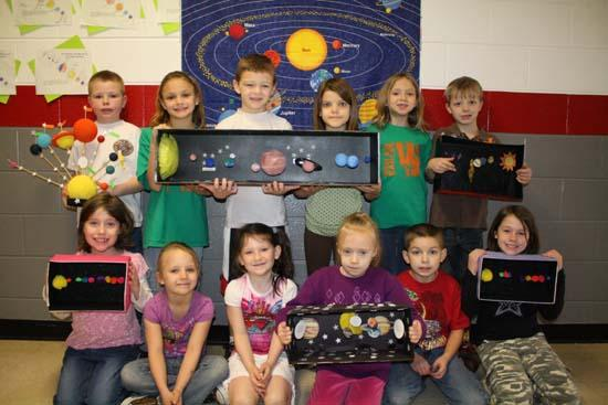 West Side 2nd Grade In Outer Space!
