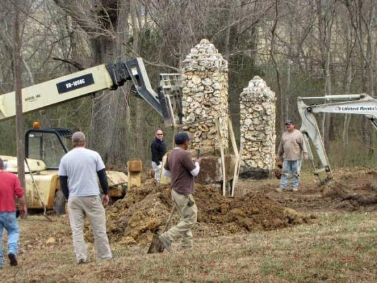 Pillars Of Cannon County Moved