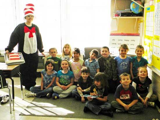 West Side Celebrates Read Across America