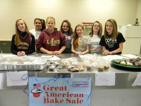 Bake Sale Held To Battle Childhood Hunger