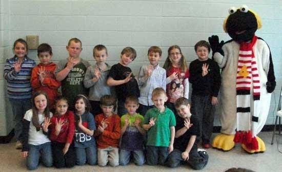 Snowbird Visits Auburn School