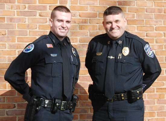 Chief's Son Graduates Law Enforcement Training Academy