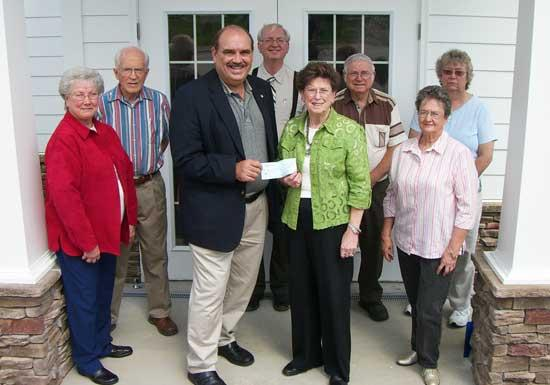 Food Bank Receives $500 Donation