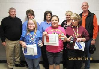 4-H Electrical Demonstration Contest Winners