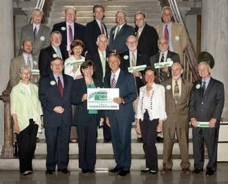 Haslam Supports Forever Green Tennessee