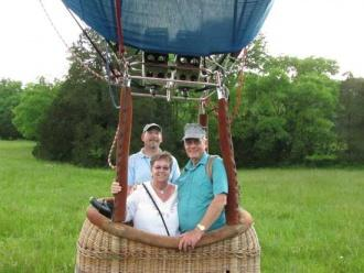Mother's Day Balloon Ride