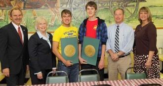 Coomes, Blackburn Recognized by Tennessee Legislature