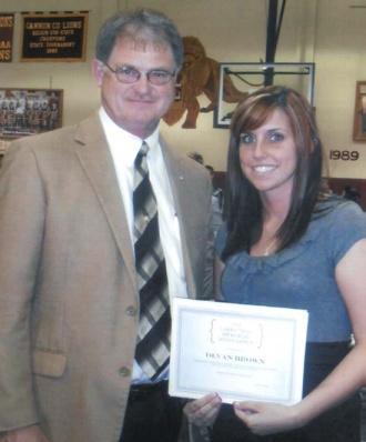 Devan Brown Awarded Trail Scholarship