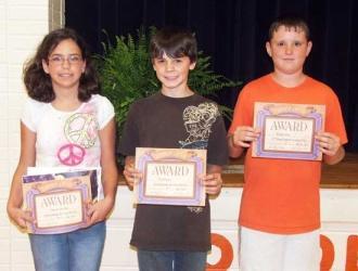 Woodland Science Fair Winners