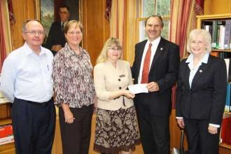 Library Presented Technology Grant Money
