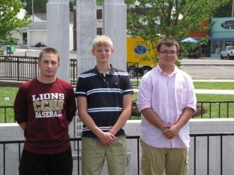 Three Cannon County Boys Attend Boys State 2011