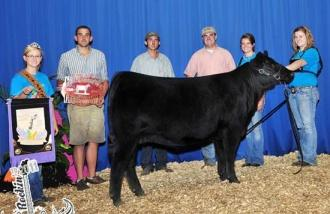 Amelia Higgins Exhibits Reserve Grand Champion