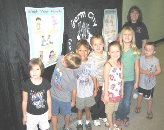 Auburntown Students Visit Germ City