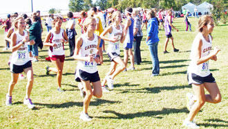 CCHS Cross Country Girls Place Third In Meet