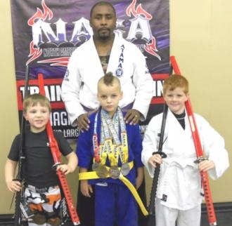 Local Grapplers Compete In Nashville NAGA Tournament