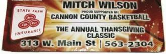 Mitch Wilson Thanksgiving Classic Starts Friday