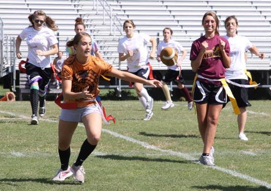 Powderpuff Football Kicks Off CCHS Homecomeing