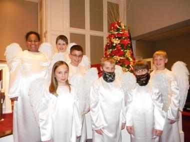Children's Choir To Present 'Angels Aware' Sunday