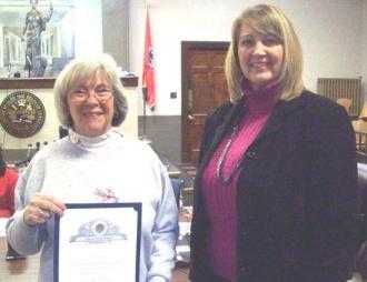 School Board Honors Retiring Educator