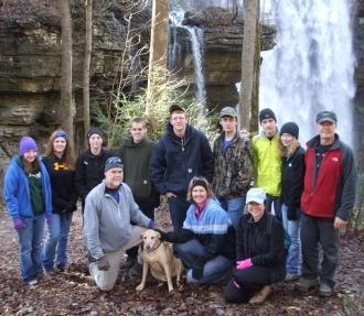 Outdoor Club Takes Strenuous Winter Hike