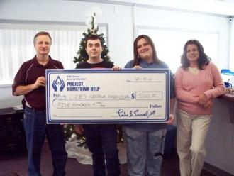 CCHS Amateur Radio Club Receives Donation
