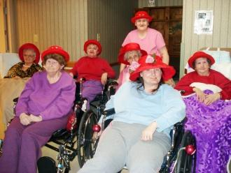 Red Hat Ladies Donate To SAVE