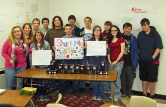 CCHS Entrepreneurship Class Sells Short Mountain Coffee