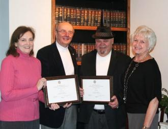 DAR Chapter Salutes Media Award Winners Penuel, Whittle