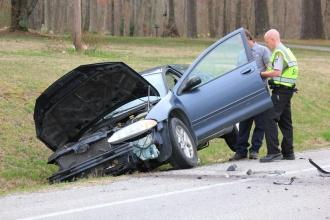 Two-Car Accident On Highway 53 South