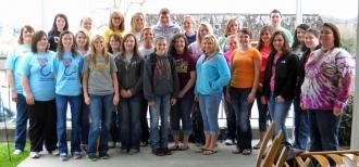 CCHS Students Visit Woodbury Nursing Home Residents