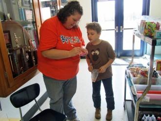 Woodland School Recognizes Good Behavior