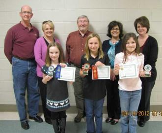 4-H Electric Demonstration Contest Winners