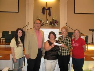 United Methodist Women Donate To SAVE