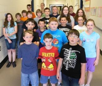 East Side School Holds Science Fair