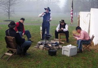Oaklands Mansion Re-enacts Gen. Forrest's surrender