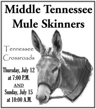 Mule Skinners Featured On Tennessee Crossroads