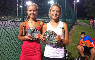 Hickman Sisters Shine At Dr. Pepper Open