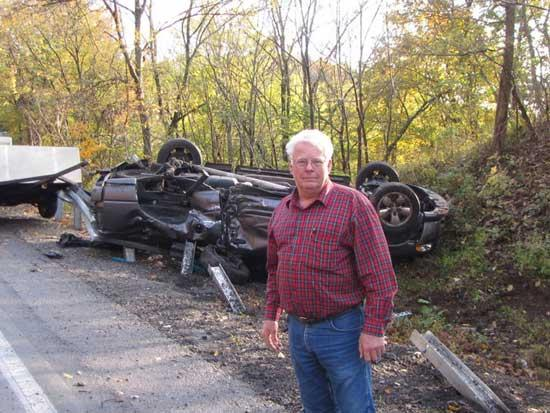 Accident On Hwy. 70 Near Stock Barn Injures Driver