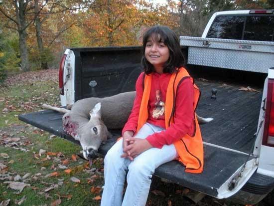 Elmy Bags First Deer