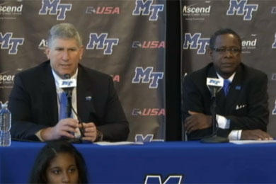 Conference realignments trickle down to MTSU
