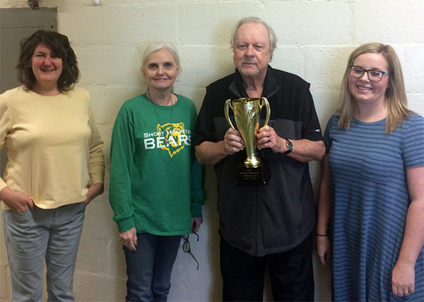Short Mountain receives Challenge Cup award
