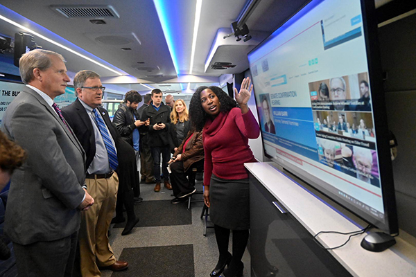 C-SPAN bus provides 'eye-opening' experience at MTSU