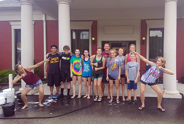 Cross country team raises funds