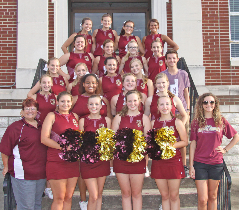 2016 CCHS Cheerleaders