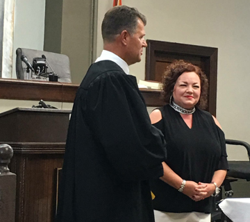 Nichols steps down as Clerk and Master, Davenport appointed to position