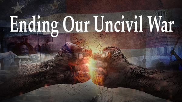 BOOK RELEASE: 'Ending Our Uncivil War'