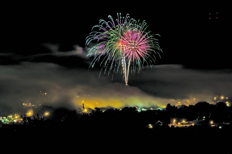 Fourth of July blast