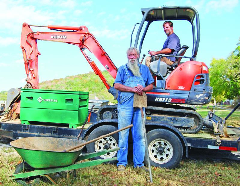 Digging a career
