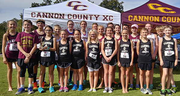 Cannon County runners compete in state meet