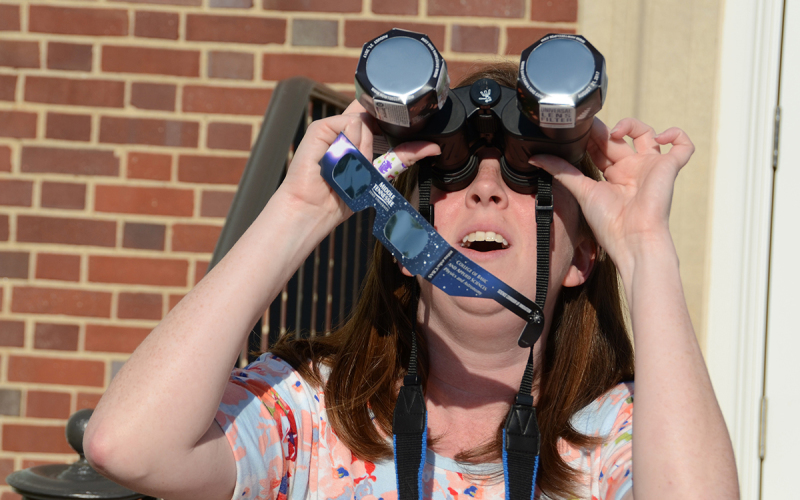 MTSU makes final preparations for Monday's eclipse viewing
